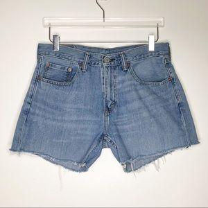 Levi's | Vintage Denim Cut Off Hi Rise Shorts